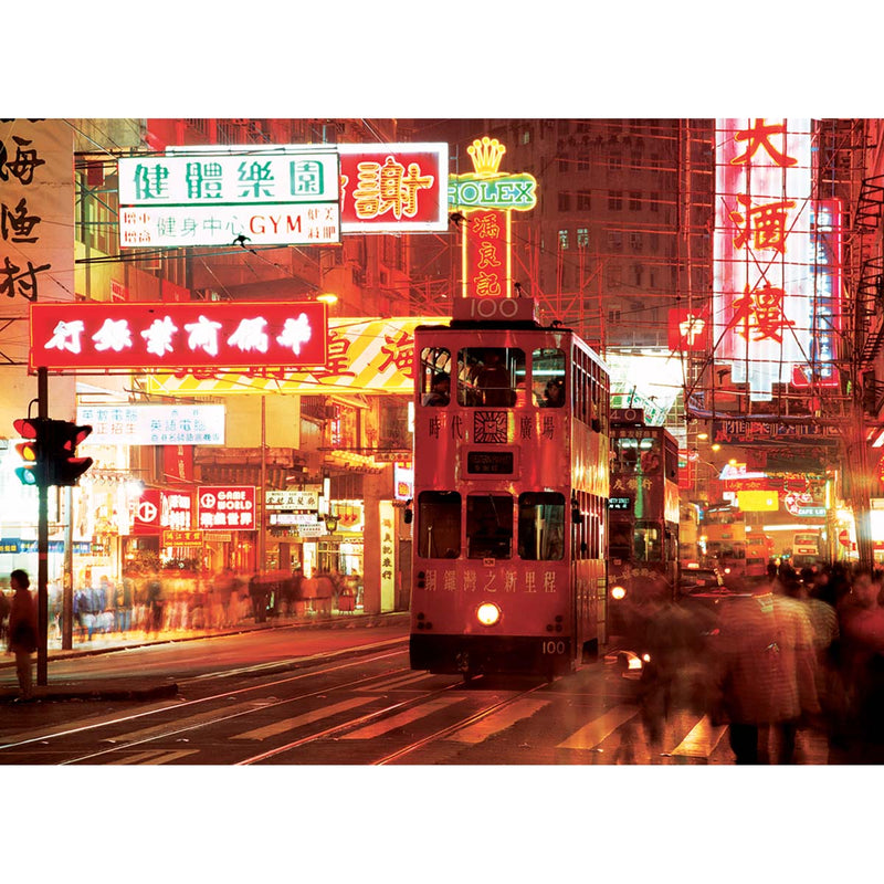 Affiche Hennessy Road, Causeway Bay, Hong Kong - 5