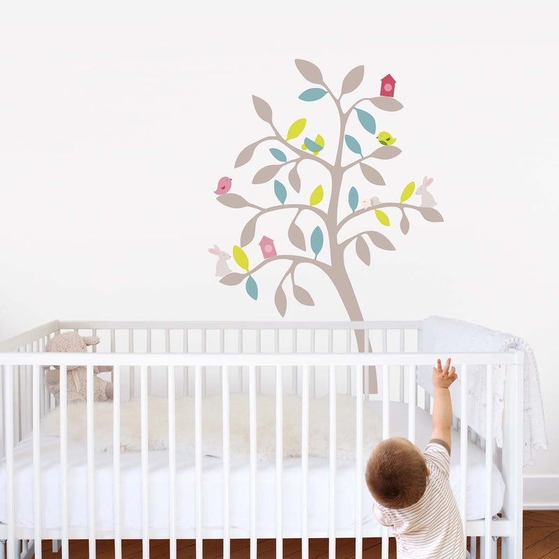 Sticker mural Arbre printemps