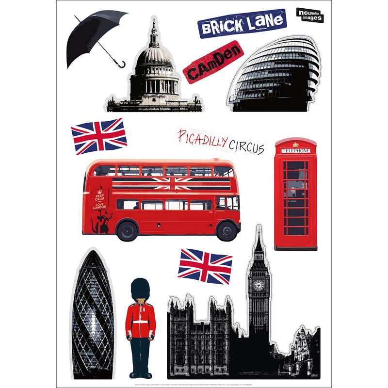 Sticker mural London skyline