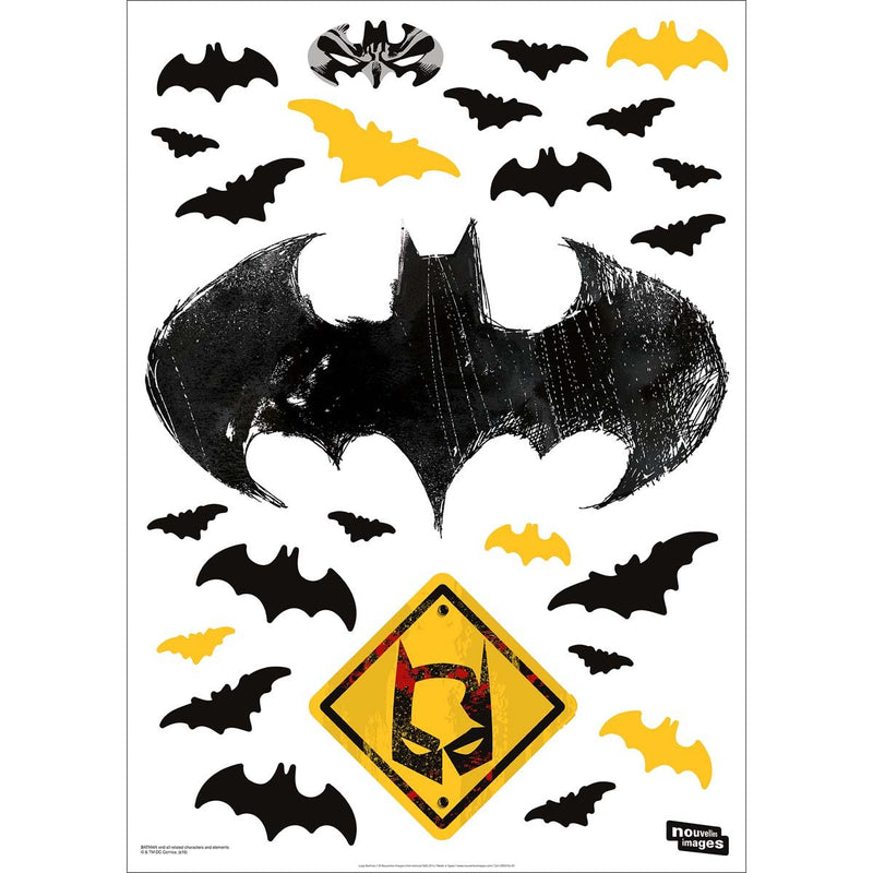 Stickers muraux Logo Batman XL