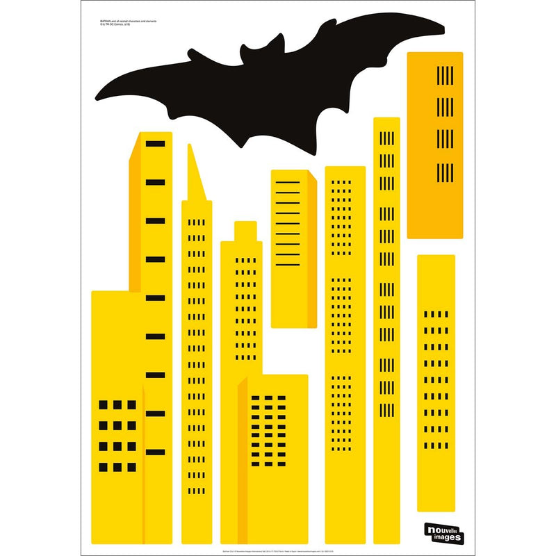 Stickers muraux Batman city XXL