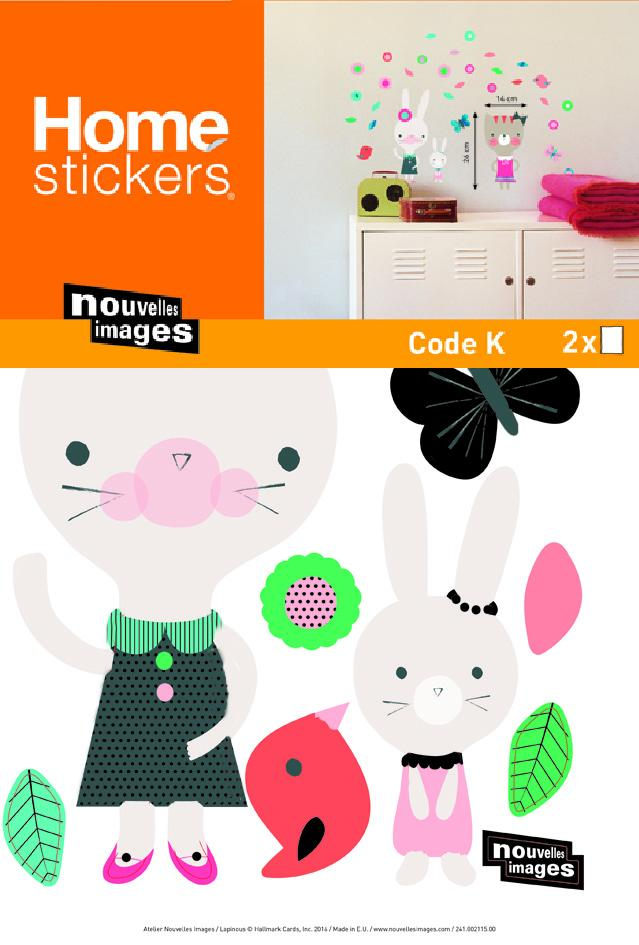 Stickers muraux Lapinous