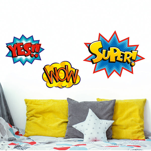 Stickers muraux Kids Words