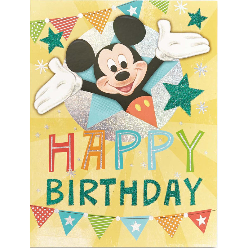 Carte Anniversaire Mickey Mouse