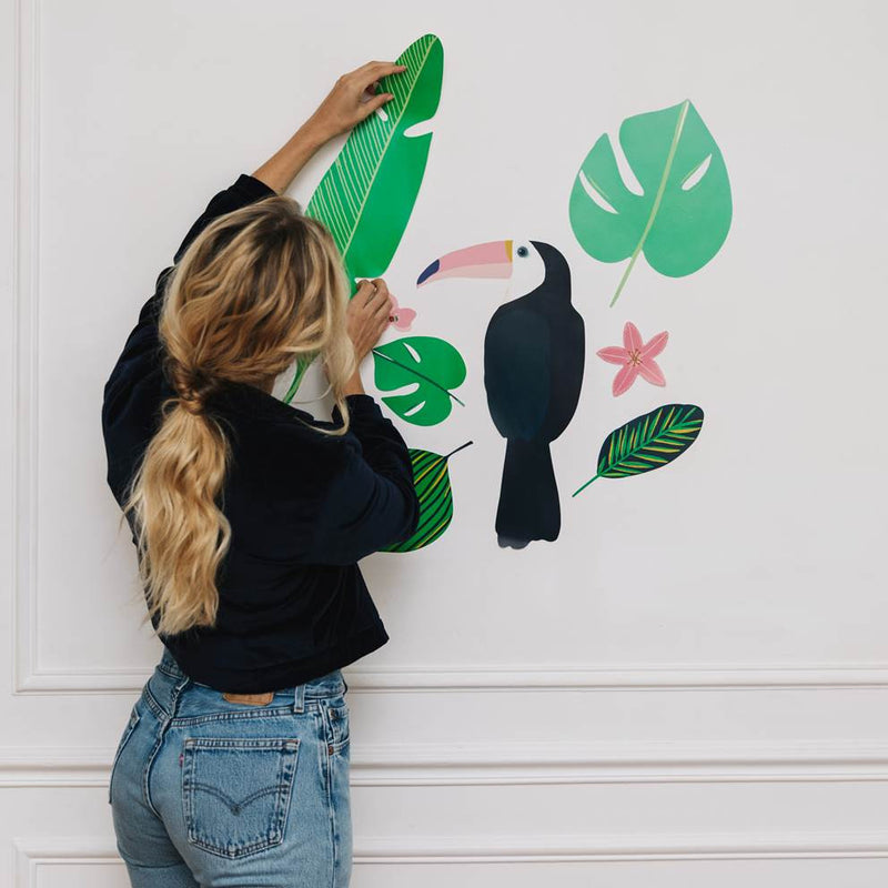 Sticker mural Jungle Toucan