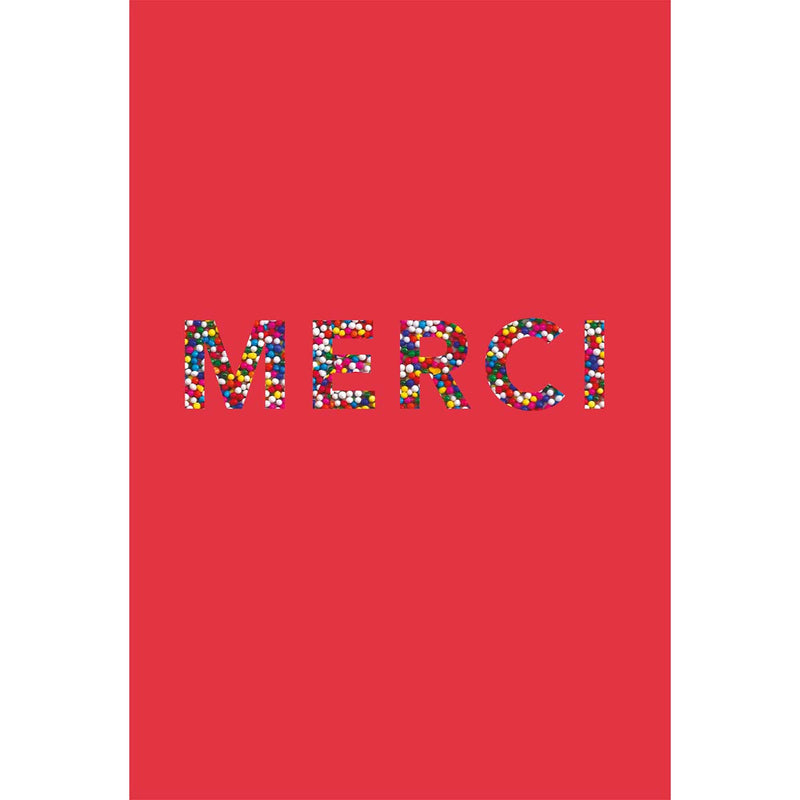 Carte merci Perles multi couleurs