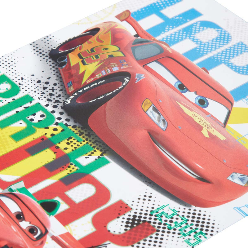 Carte anniversaire Disney Cars