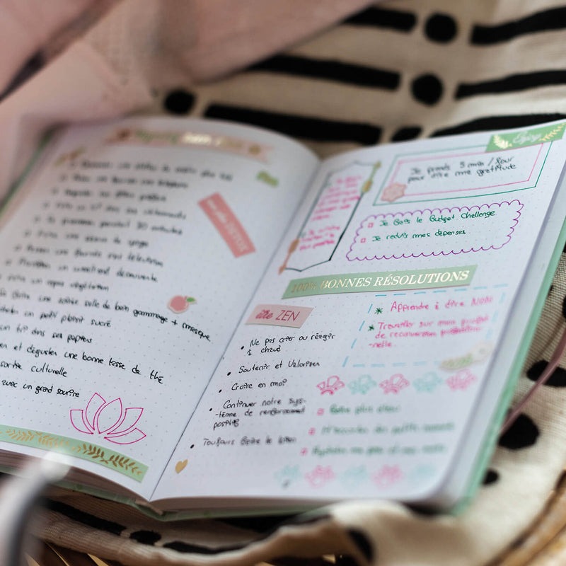 Kit de décoration Bullet journal Wellness