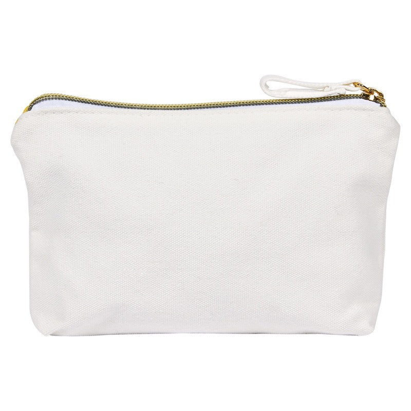 Pochette coton Monstera