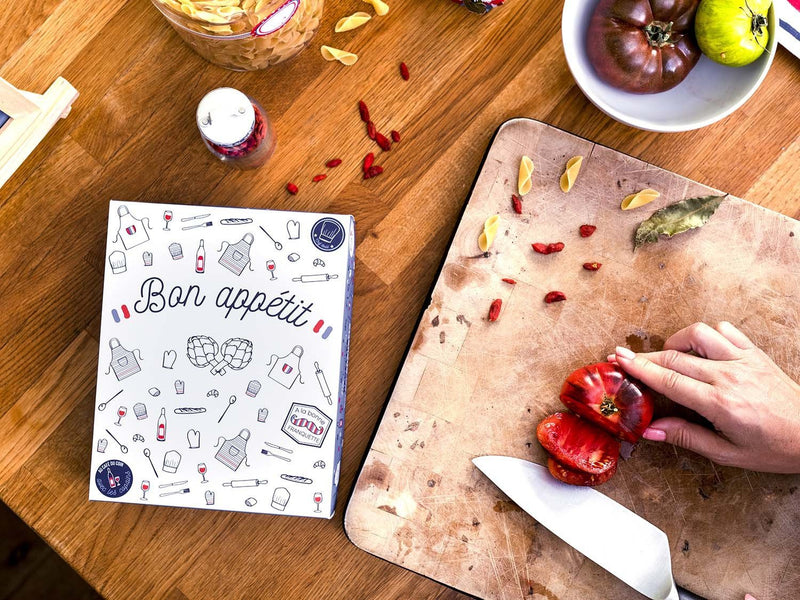 Kit papeterie classeur recettes Frenchy
