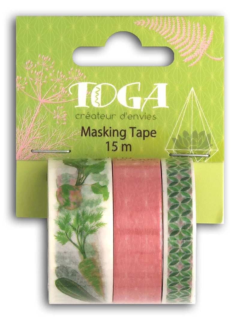 Masking tape x3 Oh My Green
