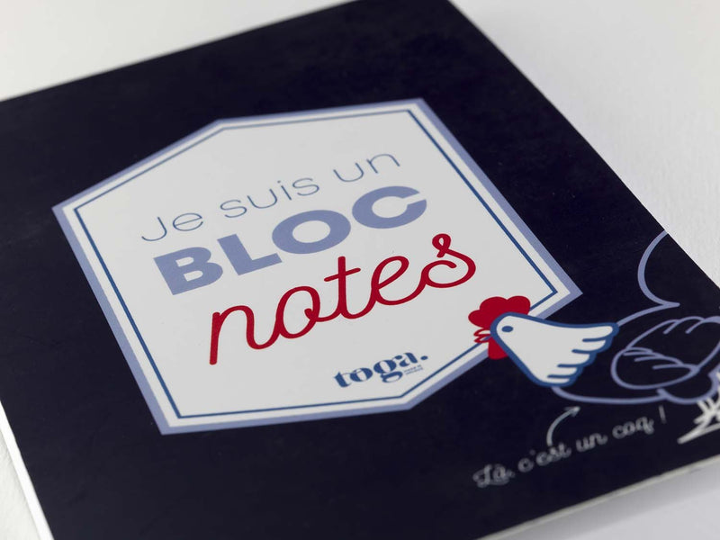 Carnet Bloc Notes Frenchy