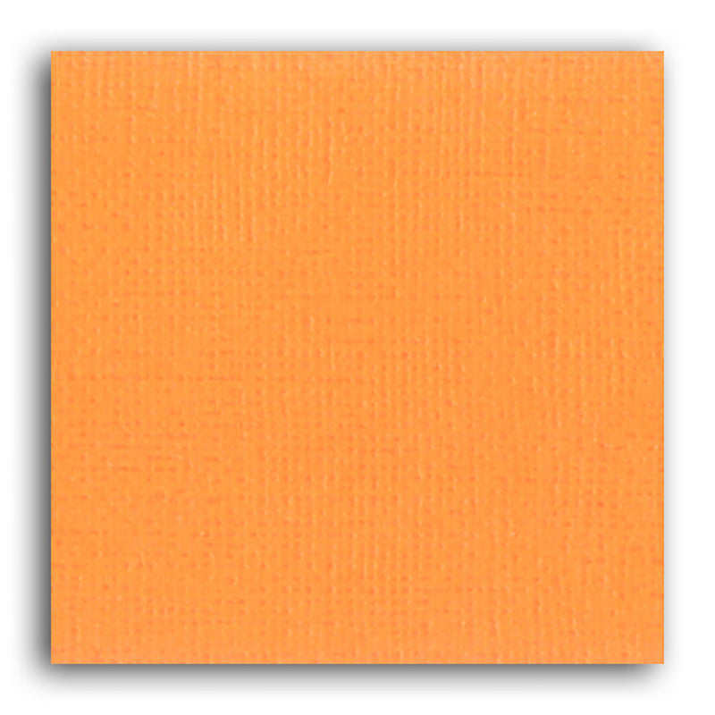 Papier scrapbooking Mahé Orange 30,5x30,5 cm