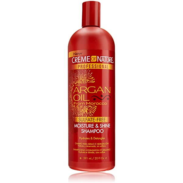 Creme of Nature with Argan Oil from Morocco Moisture&Shine Shampoo