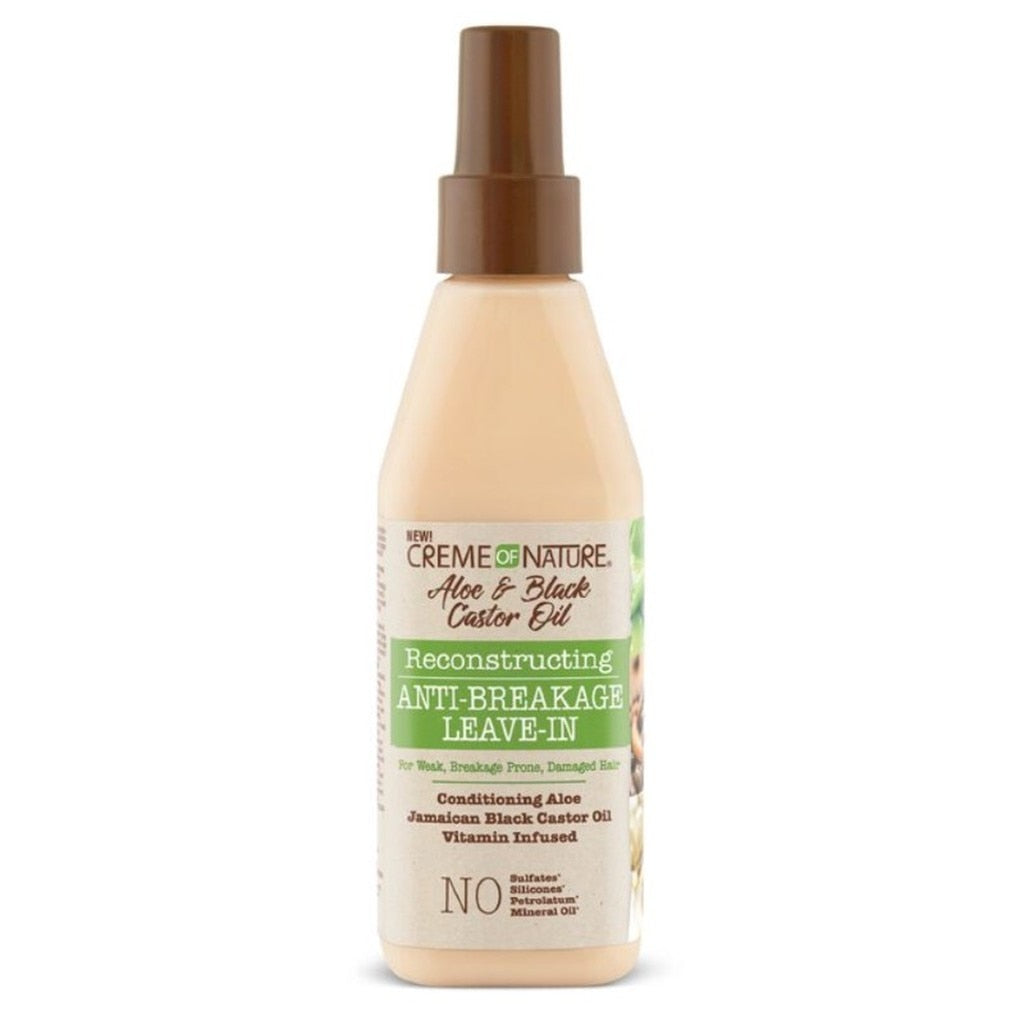 Creme of Nature Aloe & Black Castor Oil Reconstructing Anti-Breakage Leave-in