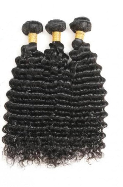 Luxurious Deep Curly 100% Virgin Human Hair Natural Colour