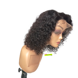 Pre-Styled Deep Curly Lace Front Wig - Tianna 10inch
