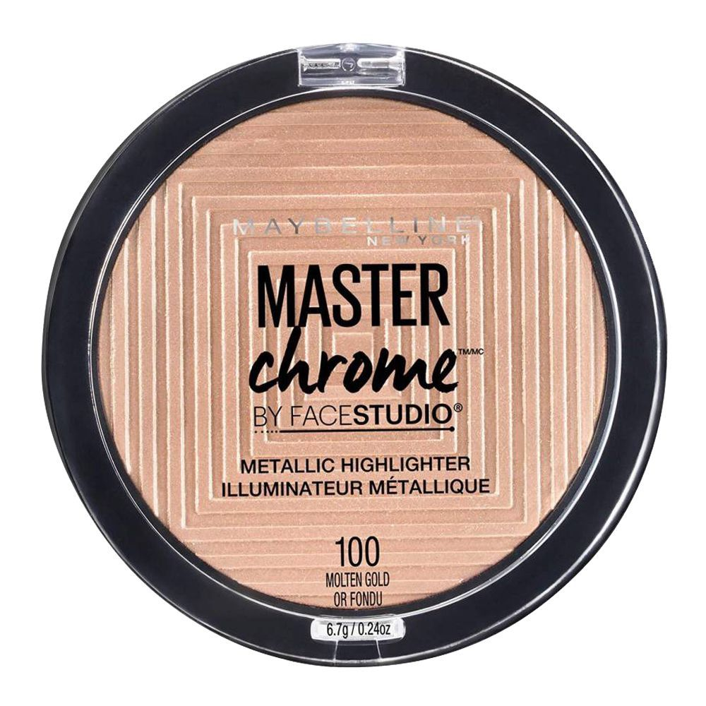 Maybelline Master Chrome Metallic Highlighter Molten Gold 100
