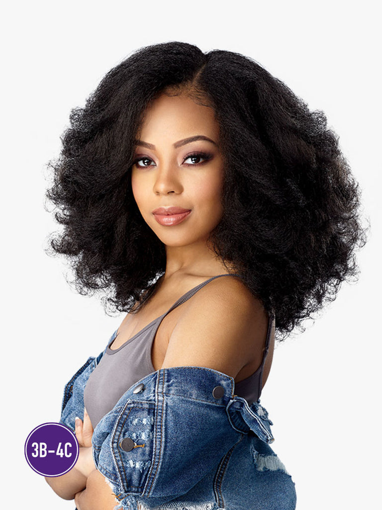 Curl kinks and co Premium Fiber textured wig Rainmaker 1B/BJ