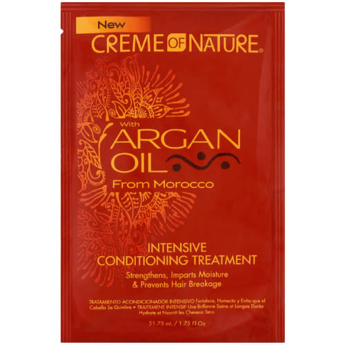 Creme of Nature w Argan Oil Intensive conditioning Treatment (Sachet)