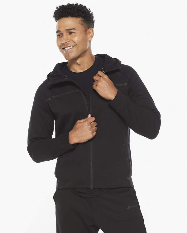 COMMUTE Zip Up Hoodie