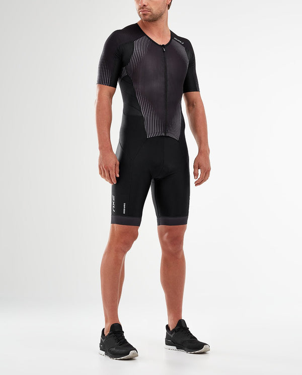 Perform Full Zip Sleeved Trisuit
