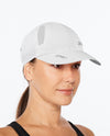 Run Cap - White/White