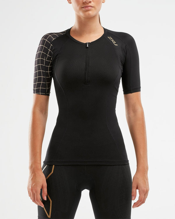 Compression Sleeved Top