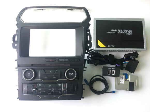 2015-2018  FORD EXPLORER 4' SYNC1 TO SYNC3 UPGRADE 8' CONVERSION OEM - oemupgrades (4296569585742)