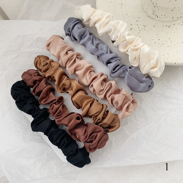 J.BILLINGSLEA 100% Silk Hair Tie (Small)
