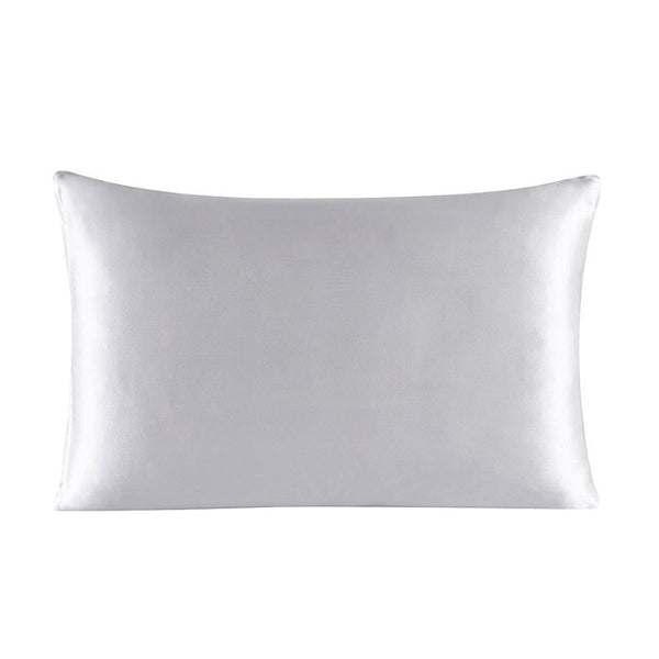 J.BILLINGSLEA 100% Silk Zipper Pillowcase for Optimal Hair