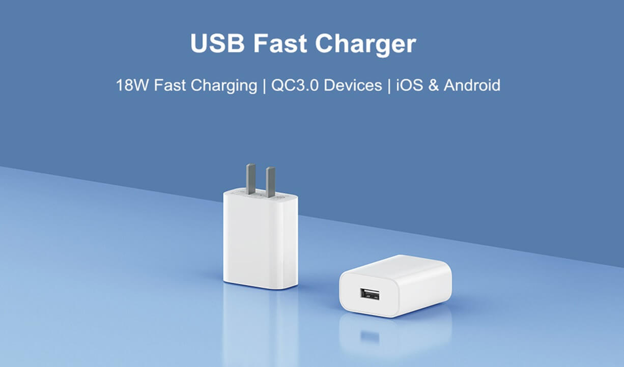 Xiaomi USB Output Fast Charger 18W