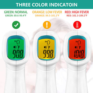 Nokki No Contact Infrared Forehead Thermometer for Adult and Baby