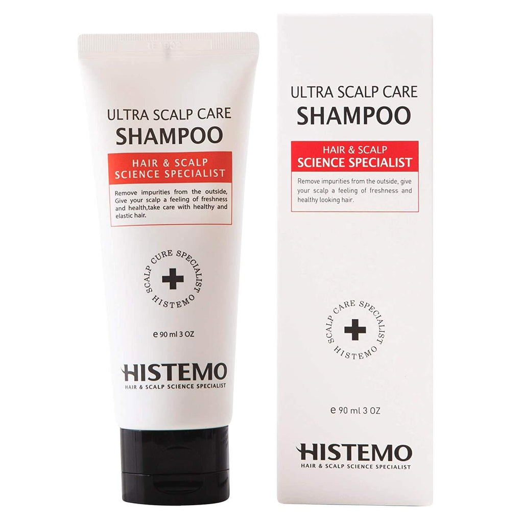 Histemo Ultra Scalp Care Shampoo, DHT Blocking Hair Restoration, Promote Hair Growth with Biotin & Prevent Hair Loss, for Men & Women with Oily Scalp or Colored Treated Hair (3 oz)