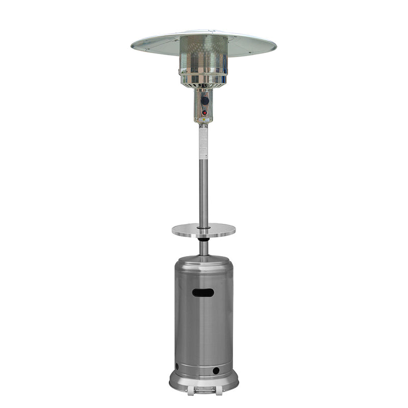 Outdoor Patio Heater in Stainless Steel