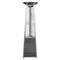 AZ Patio Heaters - Commercial Glass Tube Patio Heater in Stainless Steel