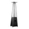 AZ Patio Heaters - Glass Tube Patio Heater in Black