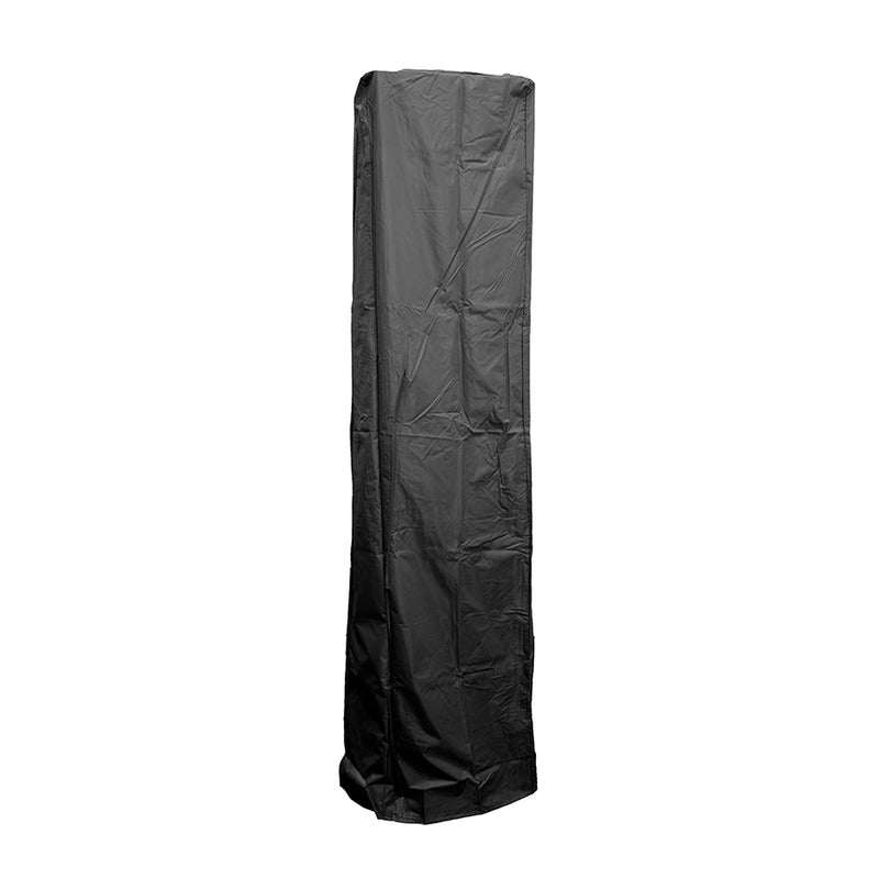 AZ Patio Heaters - Square Glass Tube Patio Heater Cover in Black