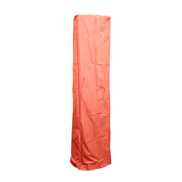 AZ Patio Heaters - Square Glass Tube Patio Heater Cover in Paprika