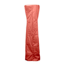 AZ Patio Heaters - Triangle Glass Tube Patio Heater Cover in Paprika