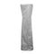 AZ Patio Heaters - Triangle Glass Tube Patio Heater Cover in Silver
