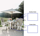 5 Piece Pub Table Set with 4 Swivel Chairs by Wildridge