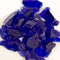 Recycled Fire Pit Fire Glass in Cobalt Blue