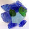 Recycled Fire Pit Fire Glass in Pacific Blend