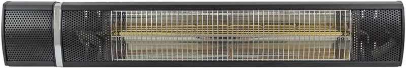 Wall Mount Black Electric Heater