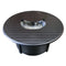 Outdoor Aluminum Propane Fire Pit Table in Black