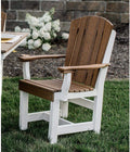 Heritage 2 tone Dining Chair with Arms by Wildridge