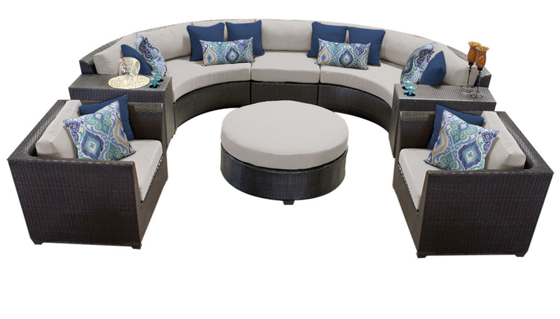 Barbados 8 Piece Outdoor Wicker Patio Furniture Set 08e