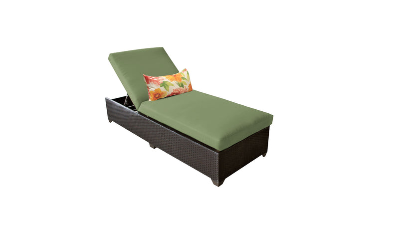 Barbados Chaise Outdoor Wicker Patio Furniture