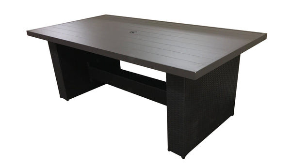 Barbados 79 inch Rectangular Outdoor Patio Dining Table